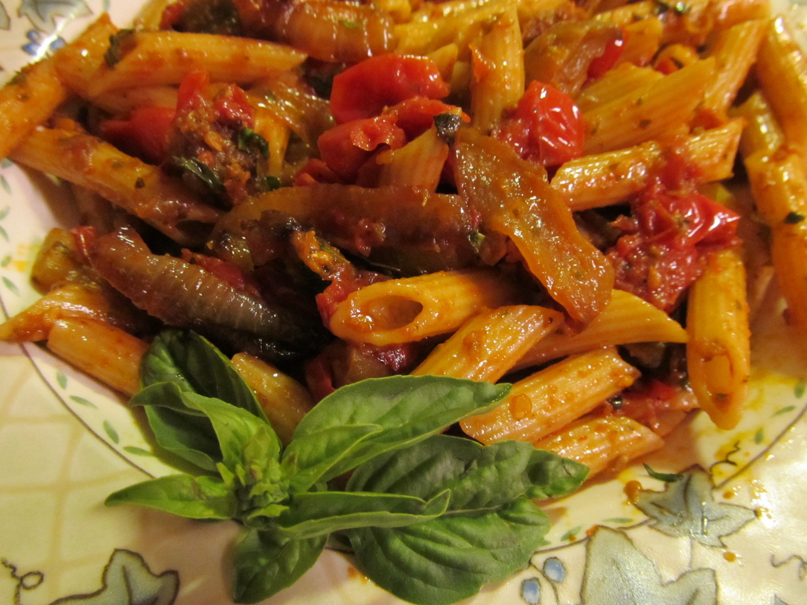 Roasted Eggplant and Tomato Pasta – the BEST pasta you'll ever eat